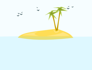 Tropical Island Clip Art at Clker.com.