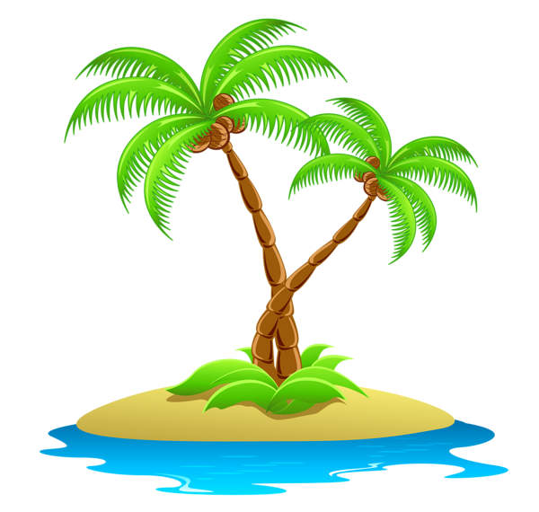 5196 Island free clipart.