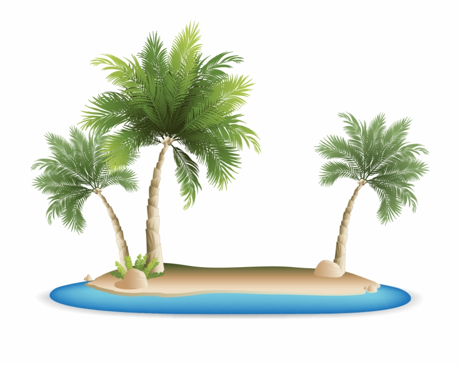 Palm Tree Clipart Tropical Grass.