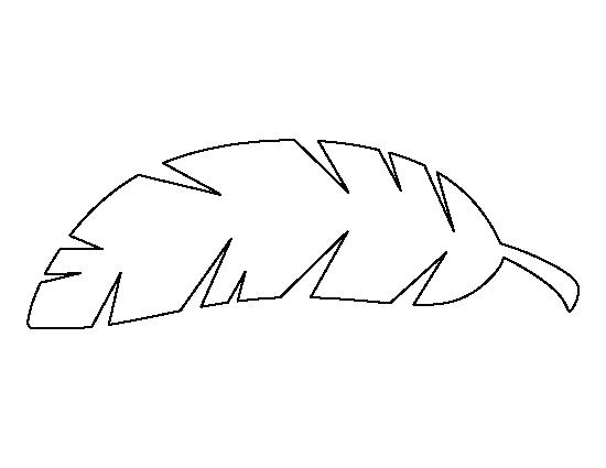 Palm Tree Leaves Coloring Pages.