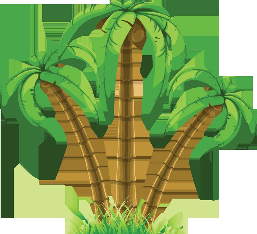 Palm tree art tropical palm trees clip art go back images.