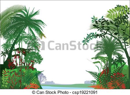 Tropical rainforest Stock Illustrations. 3,075 Tropical rainforest.