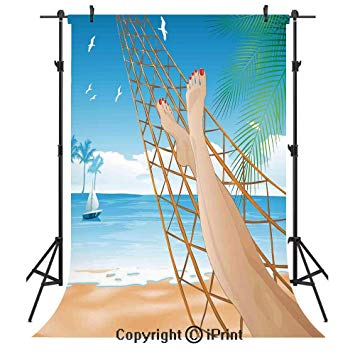 Amazon.com : Tropical Photography Backdrops, Legs of the.