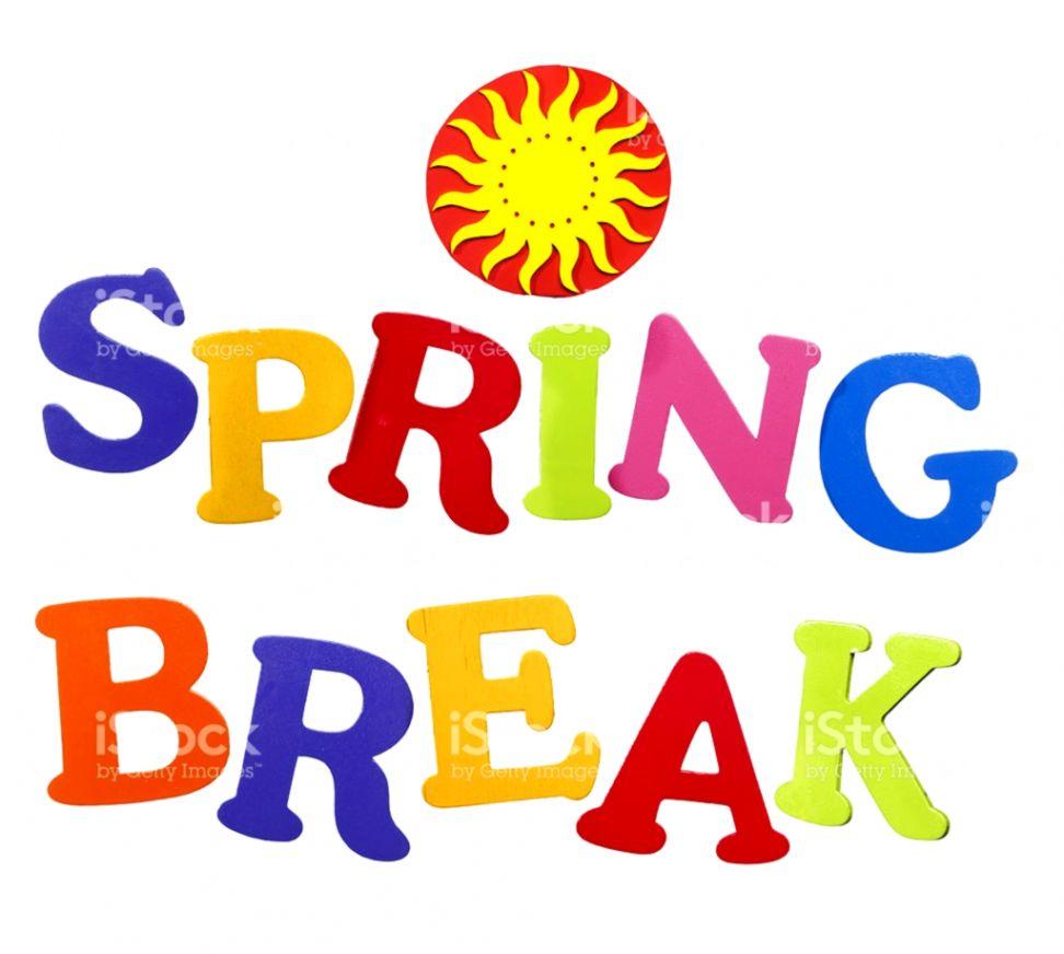 Spring Break Clip Art.