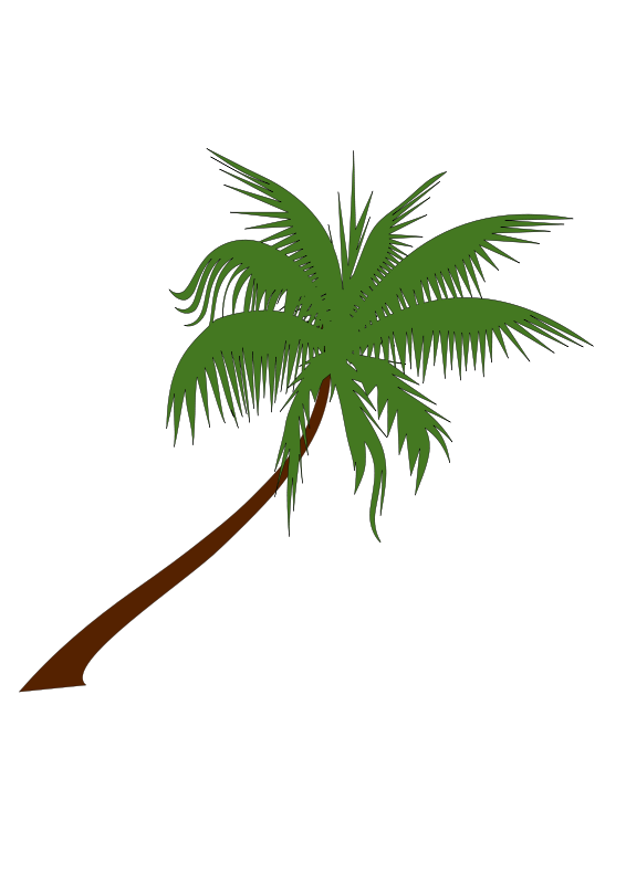 Free Clipart: Palm tree.