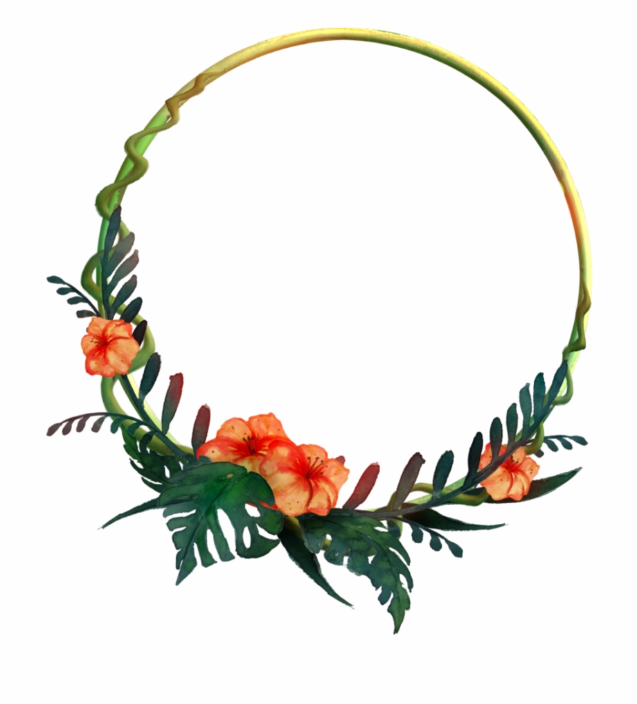 Tropical Wreath Png.