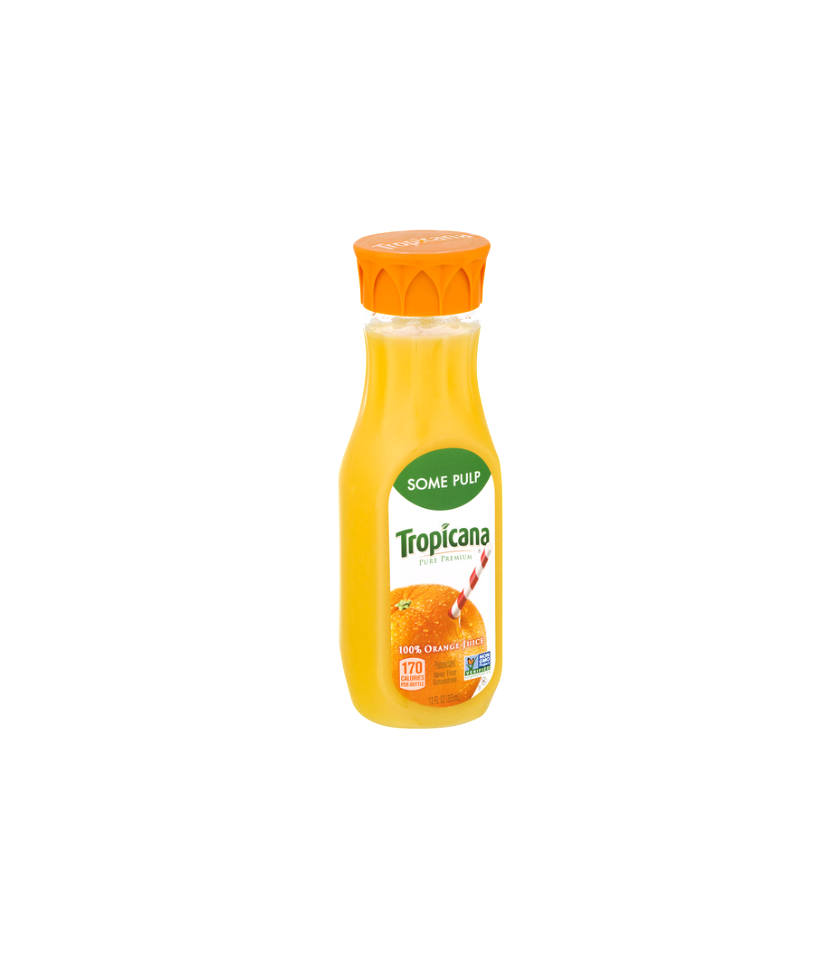 Tropicana Orange Juice.