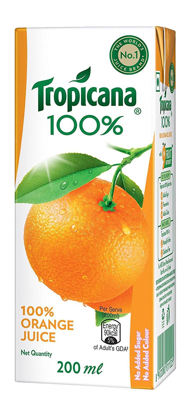 Tropicana Juice Orange PNG.