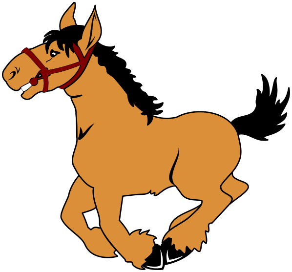 Trot Clipart.