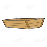 A Beka Book :: Clip Art :: Wooden Feed Trough.