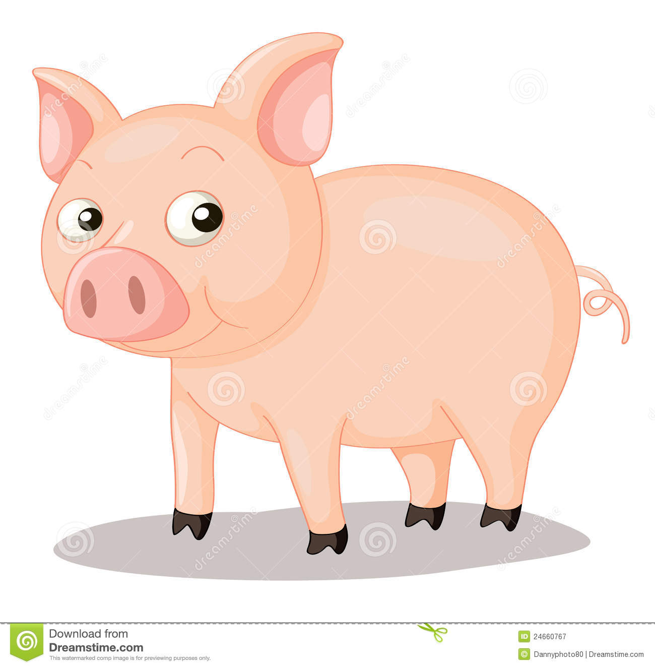 Pig Trotters Stock Illustrations.