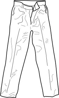 Pants Clipart.