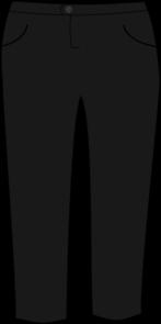 Trousers Black Clip Art at Clker.com.
