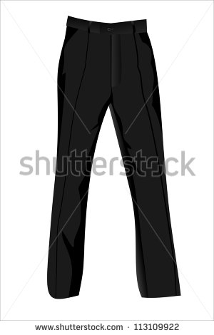 Black Trousers Clipart.