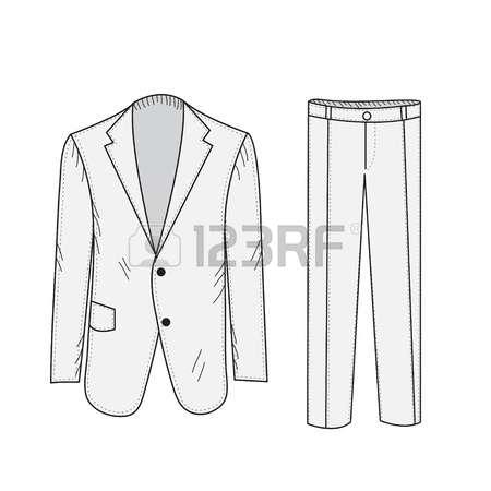 Girl pant suit clipart.