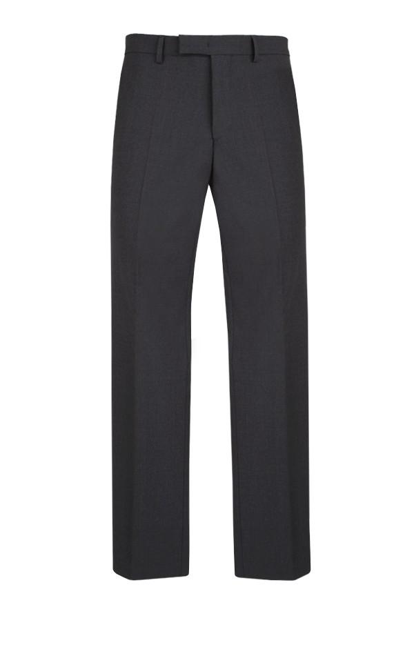 Bäumler 100% Wool Charcoal Slim Fit Suit Trousers.