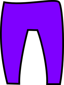 Purple Trousers Clip Art at Clker.com.