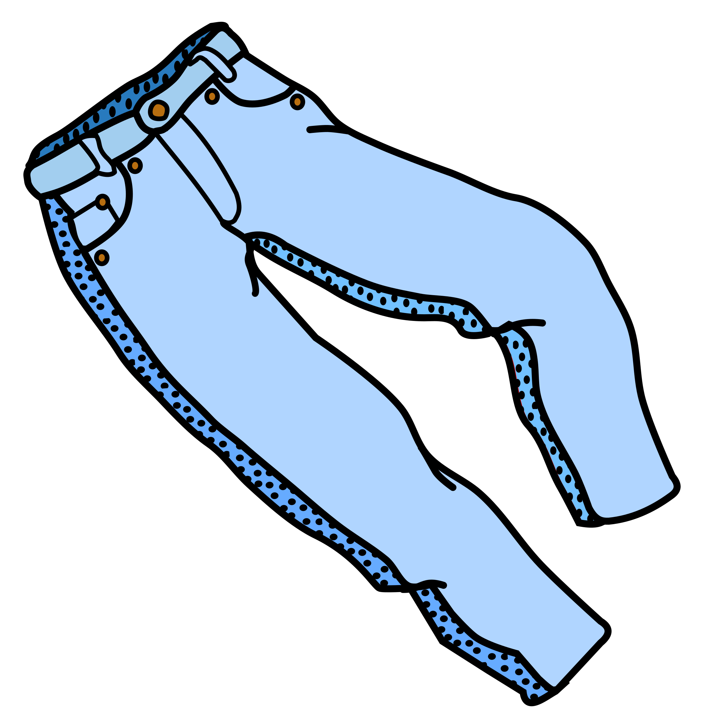 Trousers Clipart.