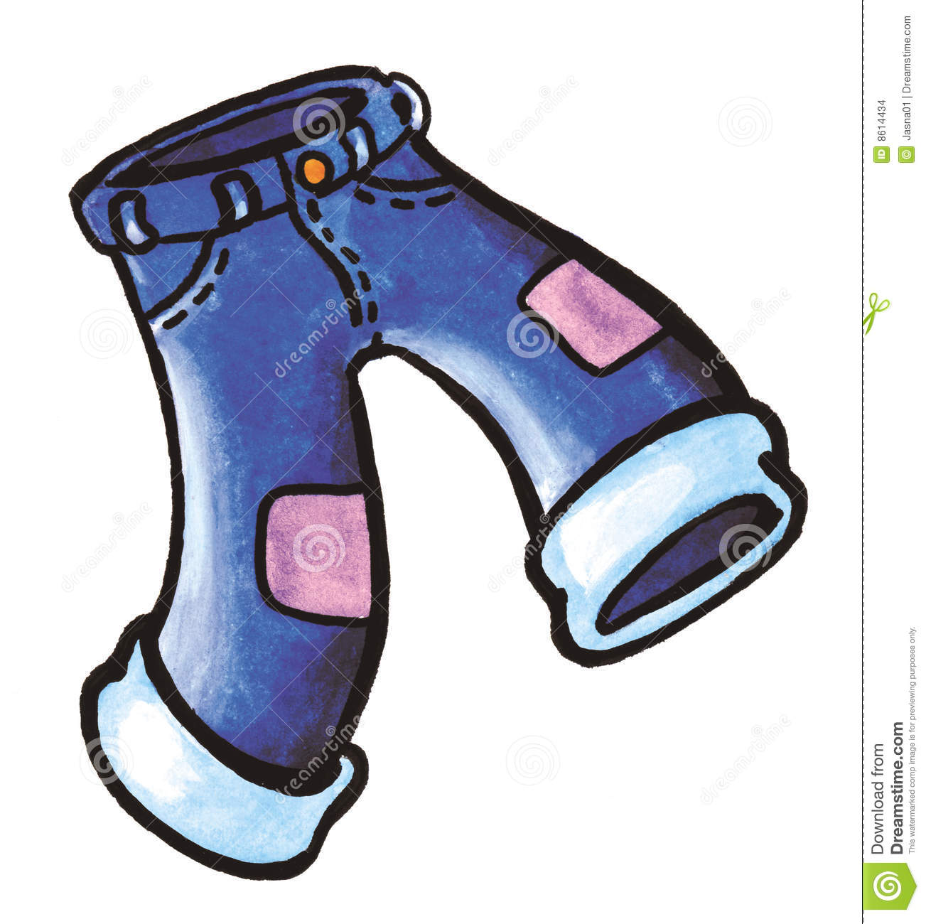 Trousers Stock Illustrations.