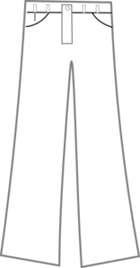 Pants Black And White Clip Art at Clker.com.