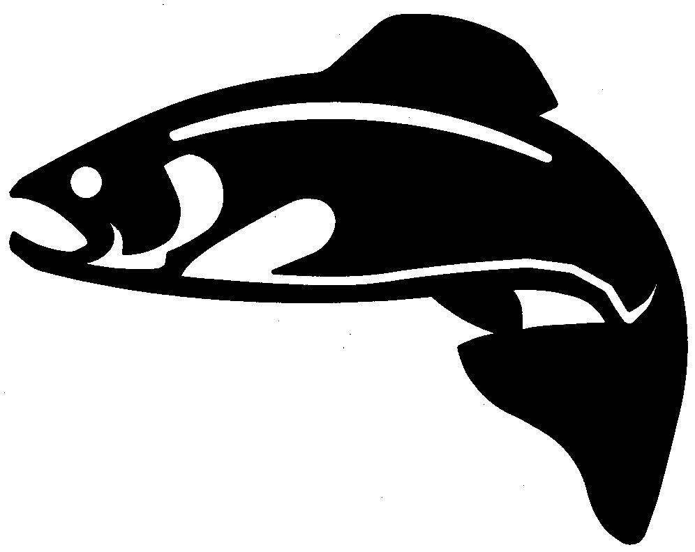 Free Rainbow Trout Silhouette, Download Free Clip Art, Free.