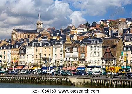 Stock Photography of Trouville, Calvados, Normandy, France x5j.