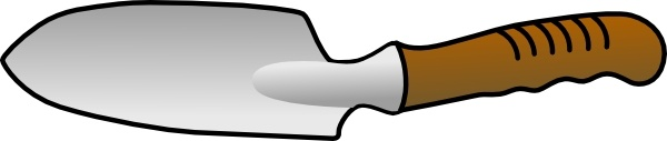 Trowel clip art Free vector in Open office drawing svg ( .svg.