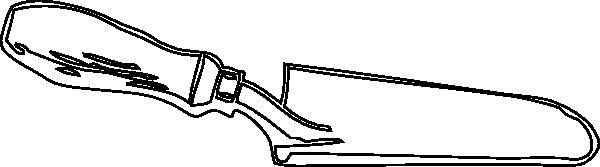 Trowel Clip Art : Trowel clipart clipground