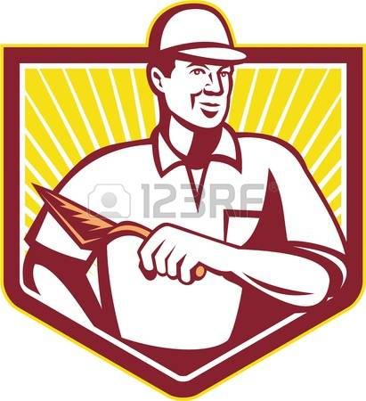 737 Trowel Man Stock Vector Illustration And Royalty Free Trowel.