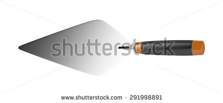 Trowel Isolated Stock Photos, Royalty.