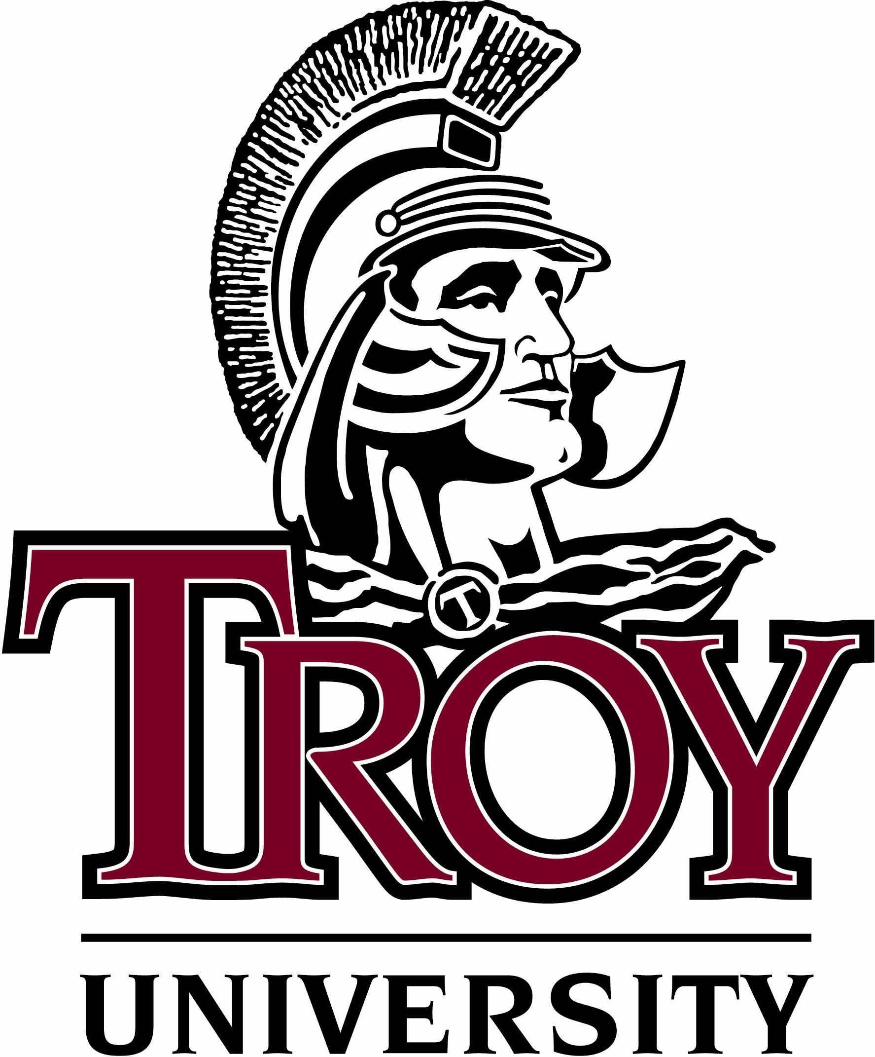 Troy university clipart.