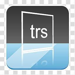 Rino Icons for Docks, trs logo art transparent background.