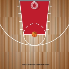 basketball court top view clipart free vectors.