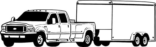 Truck and trailer clipart 1 » Clipart Station.