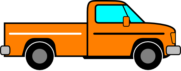 Orange Truck Clip Art at Clker.com.