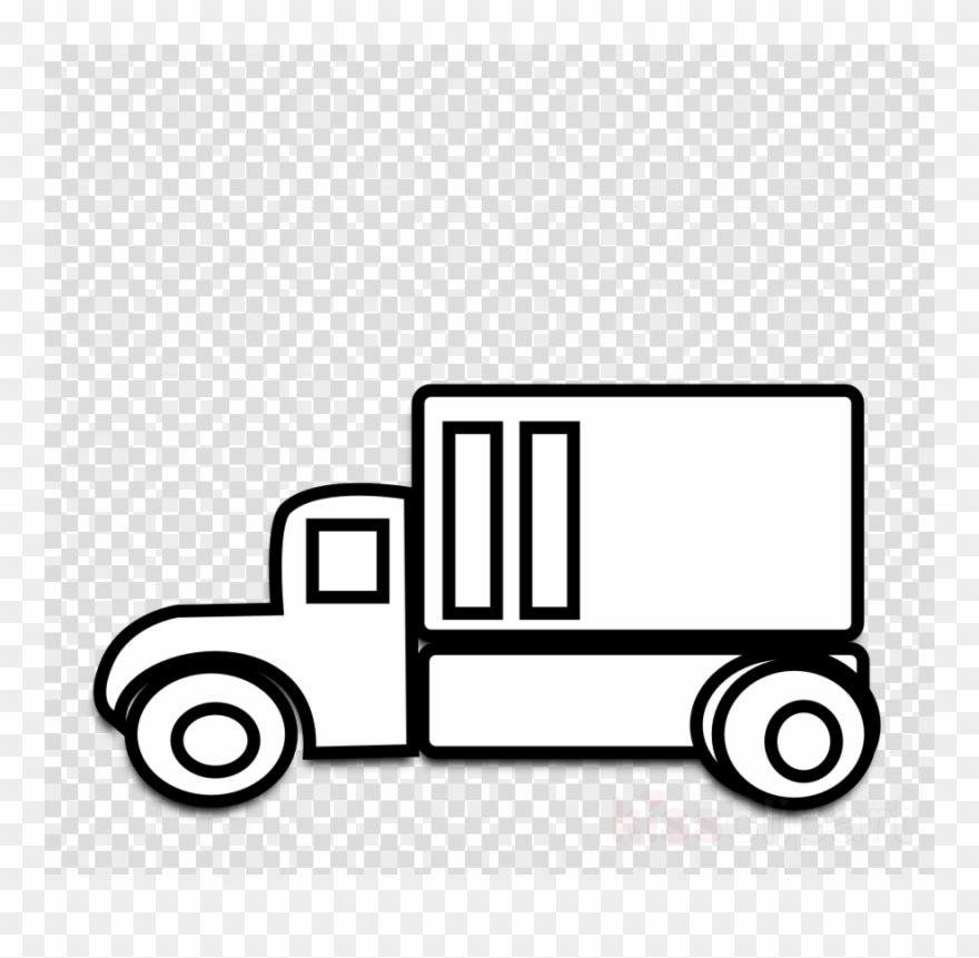 Truck Black And White Clipart Car Pickup Truck Clip.