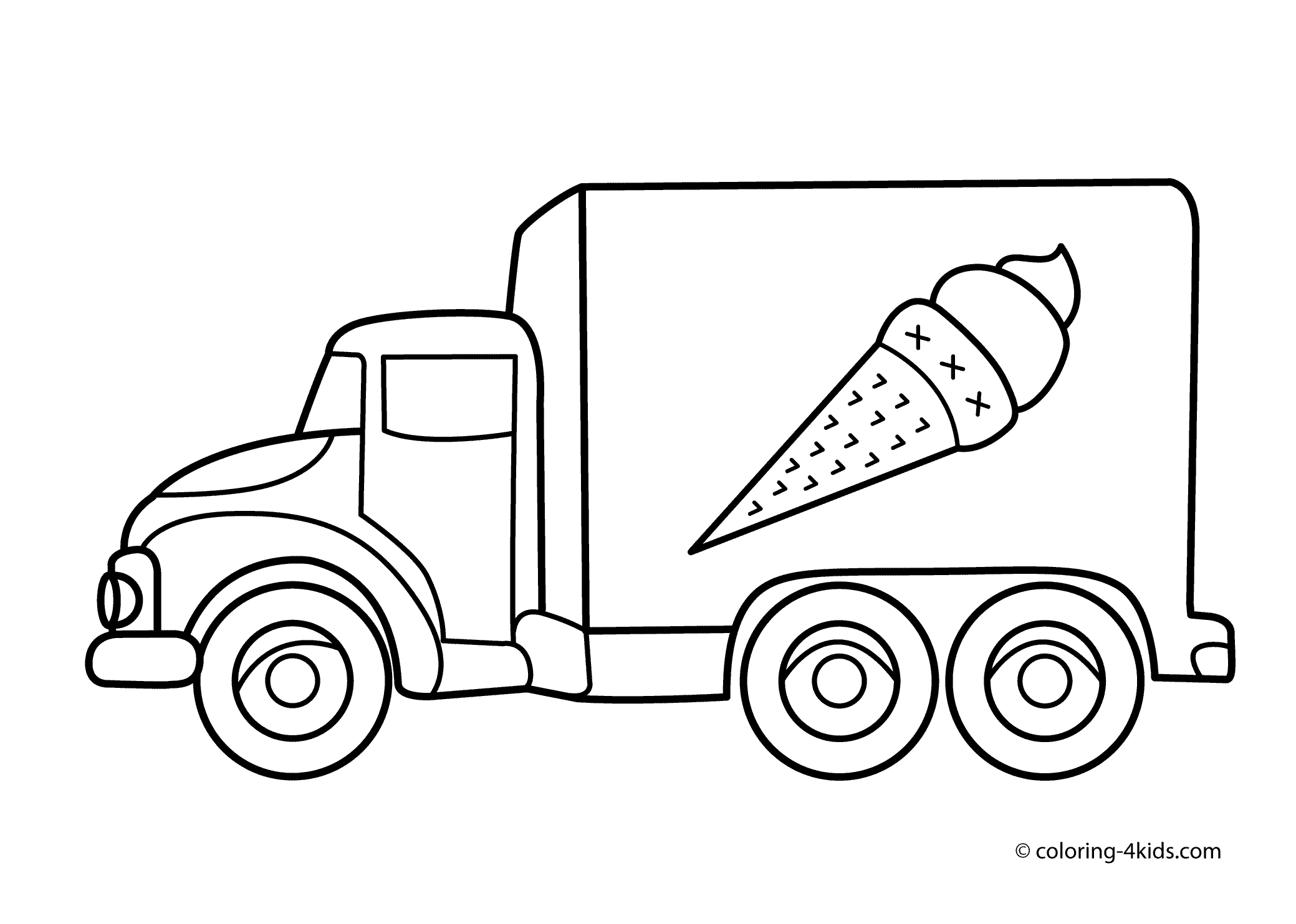 Truck clipart black and white Luxury Truck clipart black and.