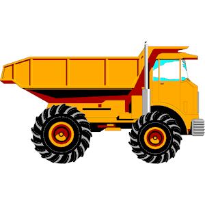 Free Dump Truck Clipart.
