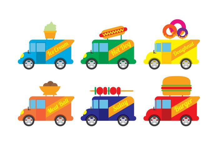 Food Truck Vector.