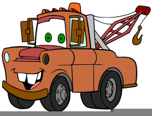 Tow Truck Free Clipart.