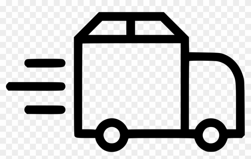 Truck Delivery Shipping Van Fast Package Svg Png Icon.
