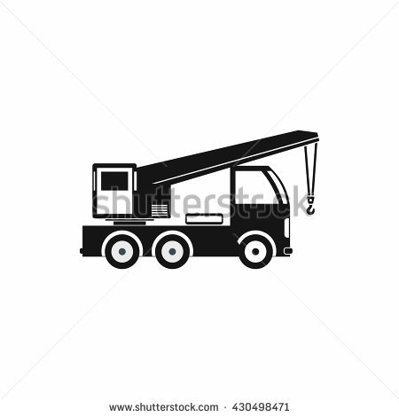 Truck Mounted Crane Stock Photos, Royalty.