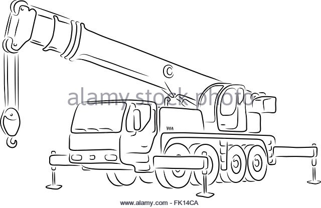 Crane Truck Mounted Boom Stock Photos & Crane Truck Mounted Boom.