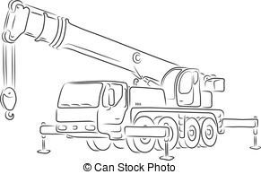 Truck mounted crane Clipart Vector and Illustration. 36 Truck.
