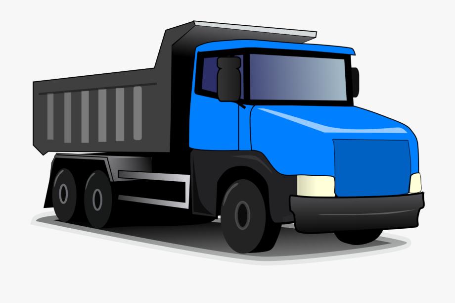 Blue Dump Truck.