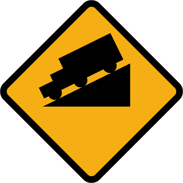 Free vector graphic: Slope, Downhill, Lorry.