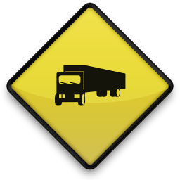 Yellow Road Sign Icons Transport Travel » Icons Etc.