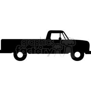 Truck Silhouettes clipart. Royalty.
