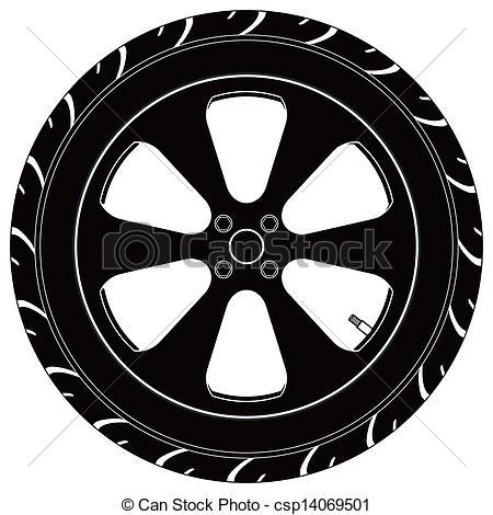 Monster Truck Tire Clipart.