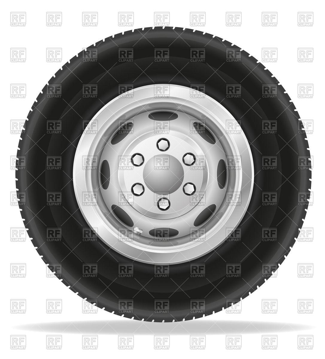 Wheel for truck Vector Image #44575.